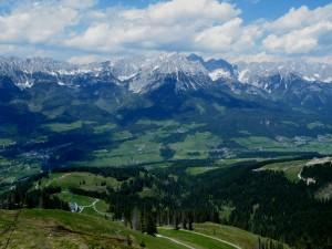 Austrian Alps tram