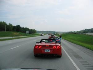On the road - Iain